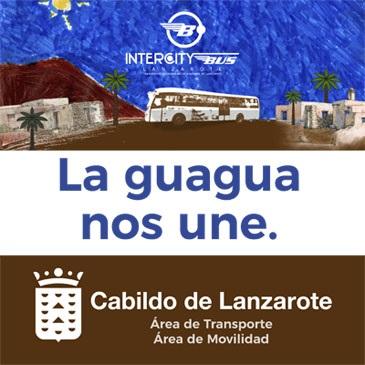 CABILDO DE LANZAROTE LA GUAGUA QUE NOS UNE