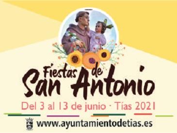 AYUNTAMIENTO DE TIAS FIESTAS DE SAN ANTONIO 2021